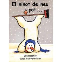 El ninot de neu pot…