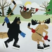 Preparant un altre títol de l'ant, l'ós i el castor.  A veure qui endevina el títol?  (Heu de mirar el post que el precedeix i el que el segueix)