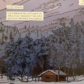 Dins dels boscos de Sibèria @virgiledureuil #sylvaintesson  #novellagràfica   Entre el final de l'hivern i el començament de l'estiu, l'escriptor Sylvain Tesson s'instal•là sis mesos en una cabana aïllada a la riba del mar Baikal, en un racó oblidat del món. Va començar, aleshores, una de les aventures més apassionants que una persona pot emprendre: un viatge interior, dins dels boscos de Sibèria.
