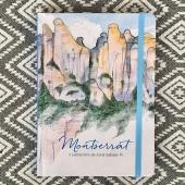 Felicitem a les Montserrats amb unes fotos de la llibreta que porta el seu nom. #permoltsanys #montserrat #27abril  #montserratlovers illustracions #jordisabaterpi textos #francescromacasanovas photos by @onallibreria La trobareu a @llibreriesobertes