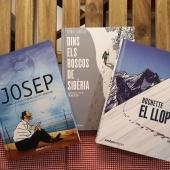 Novel•la gràfica. Ja tenim tres títols que estan agradant molt als lectors. Gràcies per la confiança.  #JOSEP #DINSDELSBOSCOSDESIBÈRIA  #ELLLOP  foto de @espolsada