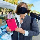 @borras_meritxell autora de #34diesdetardori1deprimavera amb el llibre @osuanya #121cançonsi1hotel   #collecciócolors  #santjordi  #santjordi2021 #autores
