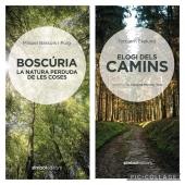 Dos llibres, dues visions de la relació dels homes amb la natura. Fent i desfent camins i vides.  @mibapu @torbhornekelund   #natura #camins #boscos #arbres #llibreries #llibres #símboleditors #homes #dones #vida #tobhornekelund