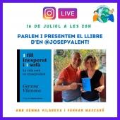 DIRECTE per INSTAGRAM.  16 JULIOL 20h.  @gemma_vilanova parlarà del seu èxit de llibre #1fillinesperati1sofa La vida amb en #josepvalent també amb @ferranmascaro , el pare d'en @josepvalent i @autismeambfutur No us el perdeu! #tea #autism #autisme #autismo #autismemom #live #directe